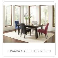 COS-AVA MARBLE DINING SET